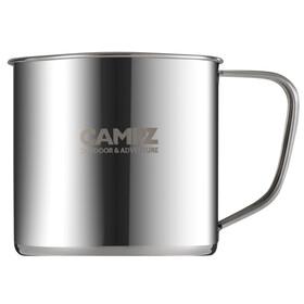 CAMPZ Edelstahlbecher Bottle 300ml grey